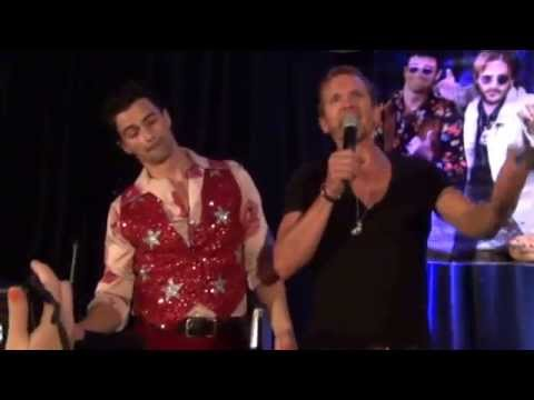 Sebastian Roche gets Matt Cohen in the balls during Bohemian Rhapsody