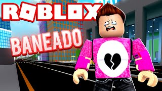 DO I BANEAN FROM ROBLOX ? Cerso roblox in Spanish