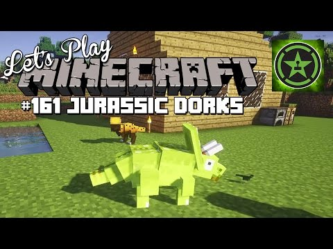 Let's Play Minecraft – Episode 161 – Jurassic Dorks