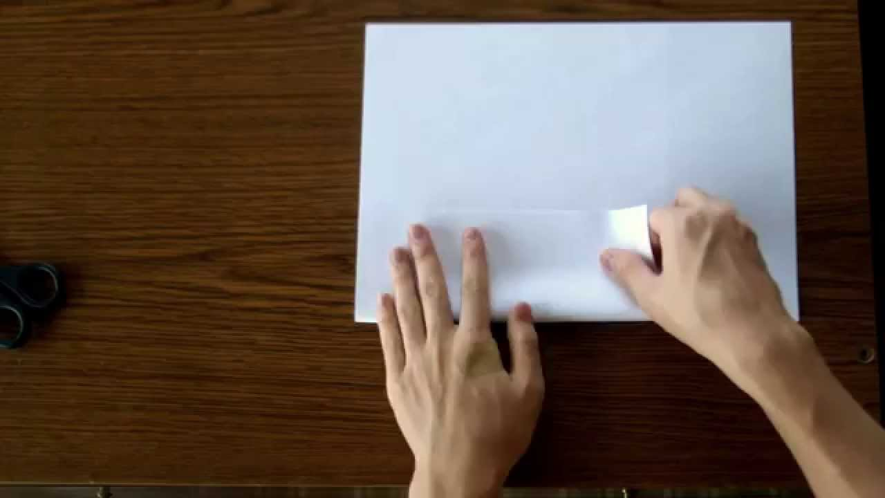 how to make a3 paper with square