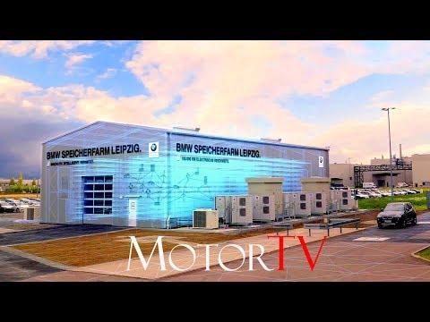 CAR FACTORY : BMW SPEICHERFARM LEIPZIG / BATTERY STORAGE FARM PLANT LEIPZIG l Clip (GER/ENG SUB)