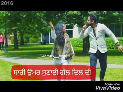 what's app status #videosach te supna amrit mann