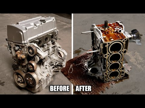 Detailed K24 Engine Teardown (COMPLETE GUIDE)