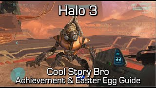 Halo 3 - Cool Story Bro (Final Grunt) Achievement & Easter Egg Guide