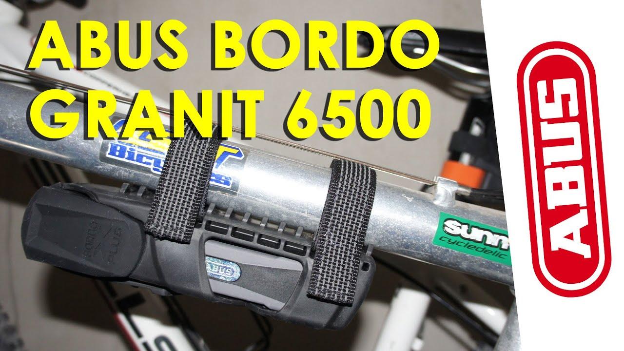 Abus Bordo Granit X Plus 6500 Doovi