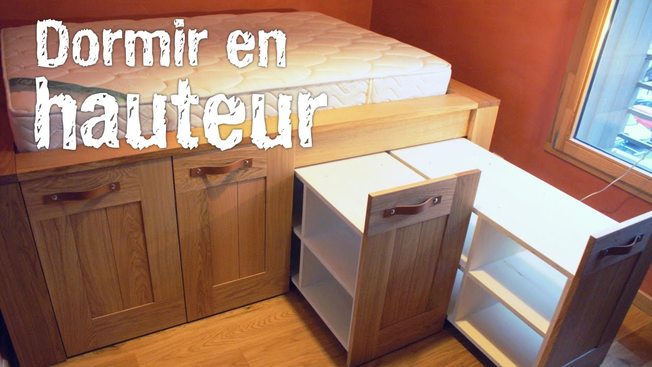 montage d 39 un lit estrade youtube. Black Bedroom Furniture Sets. Home Design Ideas