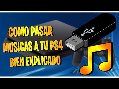 Como pasar musica de tu USB a tu PS4 para SHAREfactory Bien explicado
