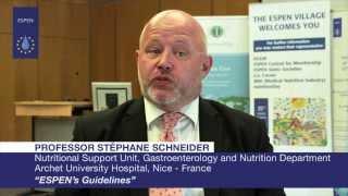 EVL - Professor Stéphane Schneider:  ESPEN's Guidelines