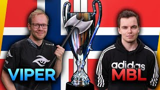 MbL vs TheViper 🏆 ECL LAN FINALS DAY 1
