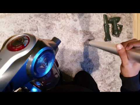 UNBOXING Hoover DS22G Discovery Cordless Vacuum Cleaner