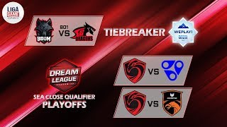 Team Secret VS Nigma (BO3)   EU Closed Qualifier Dreamleague Season 13