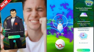 GIOVANNI + SHADOW LEGENDARIES + NEW RESEARCH… IT'S TIME! (Pokémon GO)