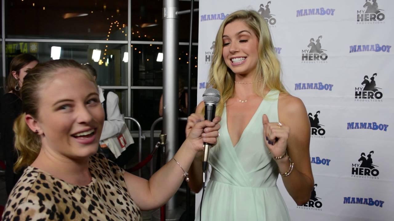 Allie Deberry Hot allie deberry interview at mamaboy movie premiere