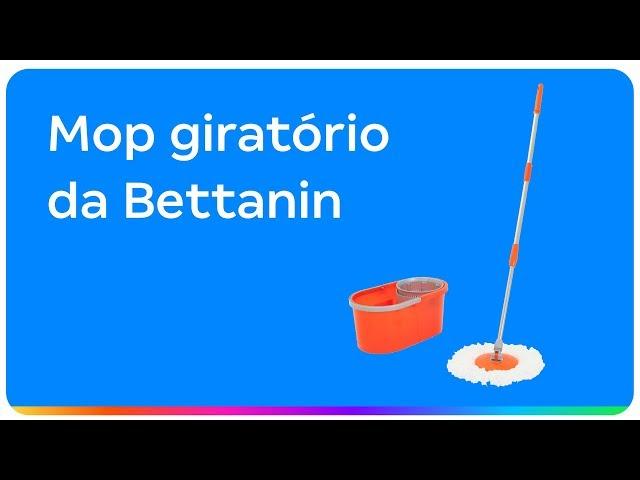 Mop Giratório Bettanin Brilhus BT2074 com Balde