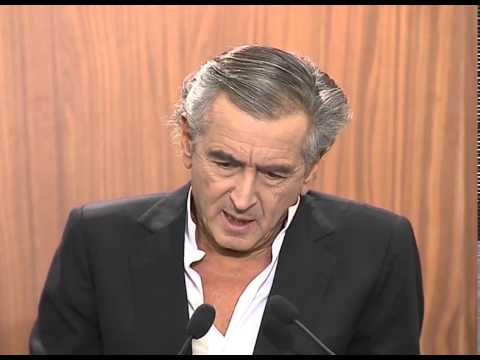 Bernard-Henri Levy, French philosopher and writer at Sheptytsky Award Ceremony