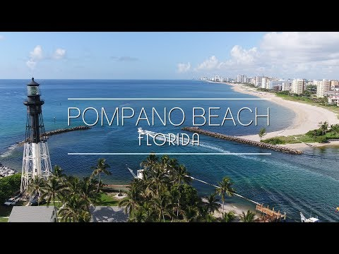 Pompano Beach Waterfront Lifestyle // Aerial Video