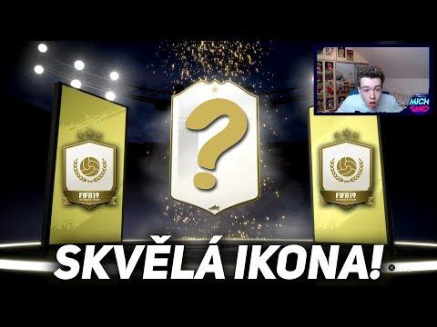 OMG SKVĚLÁ IKONA! BASE ICON UPGRADE SBC | FIFA 19 CZ