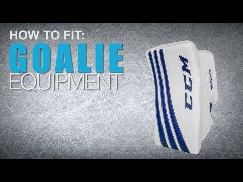 How To Fit Goalie Equipment: Blocker