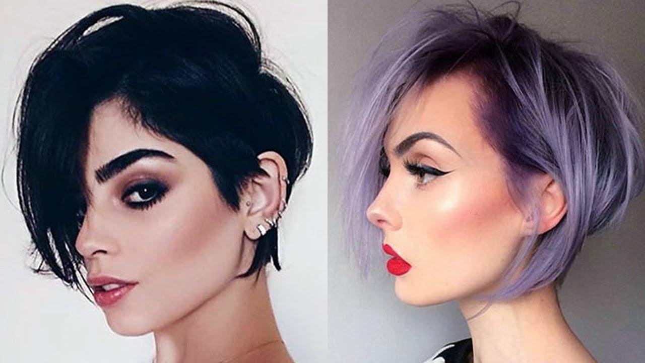 trendy short medium hairstyles