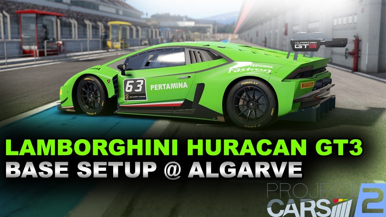 Project Cars 2 Lamborghini Huracan Gt3 Race Setup Algarve 142 582