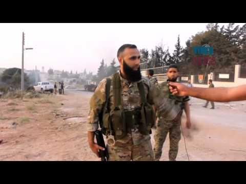 Fatah forces seize Al mastumah military base in Idlib