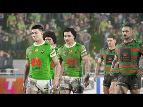 CANBERRA RAIDERS 2019 CAREER - ROUND 1 - RUGBY LEAGUE LIVE 4