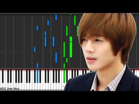 BOF - Because I'm Stupid (Kim Hyun Joong) Piano midi