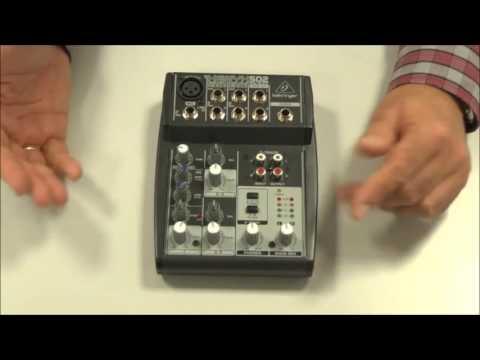 Mesa de mezclas. 2ª parte  │MOOC Creación de una radio para internet (12-43) │UPV
