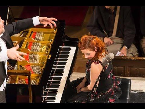 Mozart: Piano Concerto K.466, Natasa Veljkovic, Predrag Gosta, Makris Symphony Orchestra, Live