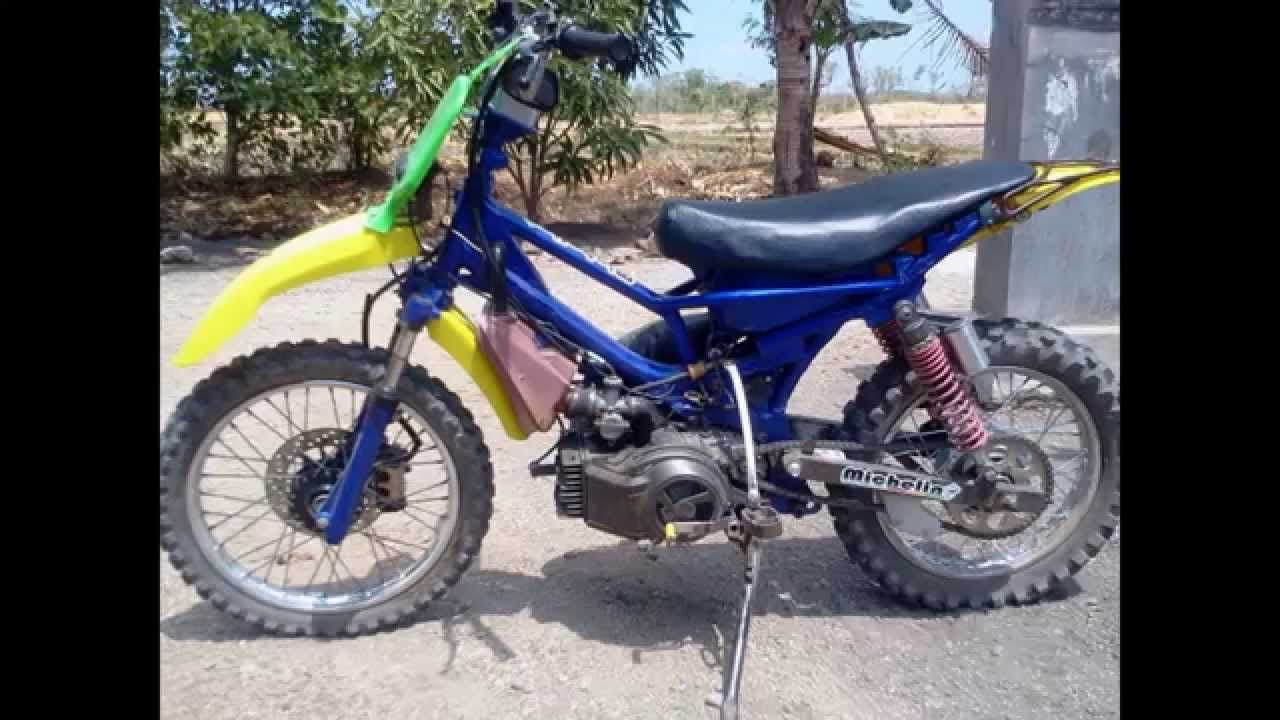 Download Modifikasi Motor Trail Bebek Yamaha Vega Terbaru Velgy