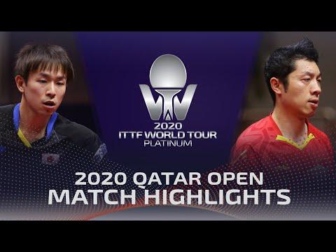 Koki Niwa Vs Xu Xin | 2020 ITTF Qatar Open Highlights (R16)