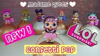 New LOL Confetti POP Series 3 L.O.L Surprise Dolls DIY Madame Queen Rare Doll