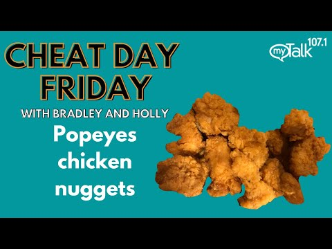 Cheat Day Friday: Popeyes chicken nuggets