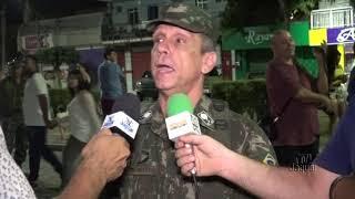 General Cunha Matos comandante da 10ª região militar se fez presente no desfile Cívico em Limoeiro d