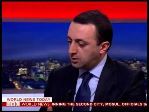 Georgian Prime Minister Irakli Gharibashvili's interview with BBC World News
