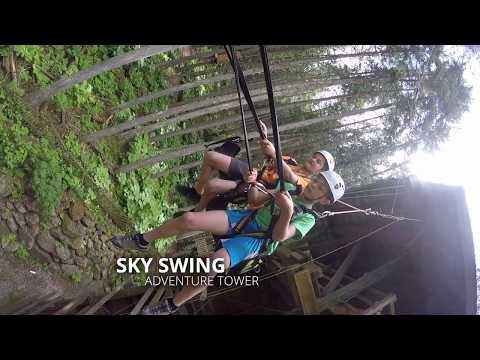 ADVENTURE TOWER - Adrenaline activities - SkyTrek Adventure Park, BC