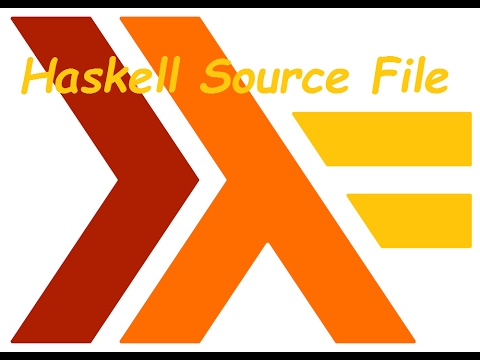 Create Haskell Source File