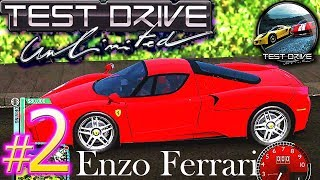 Test Drive Unlimited HD PC Walkthrough - Part #2 - FERRARI ENZO GAMEPLAY! TDU 100% Guide