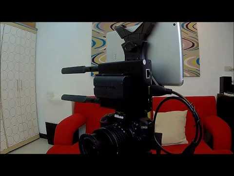 Low Cost Facebook YouTube Live Stream For DSLR Camera / DV Recorder Using H.264 Encoder & IPad Mini