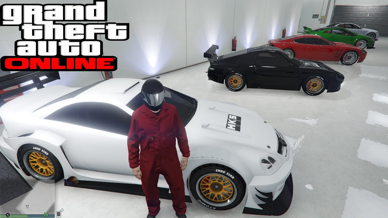 GTA 5 Online PC My car collection garage Rally cars - YouTube