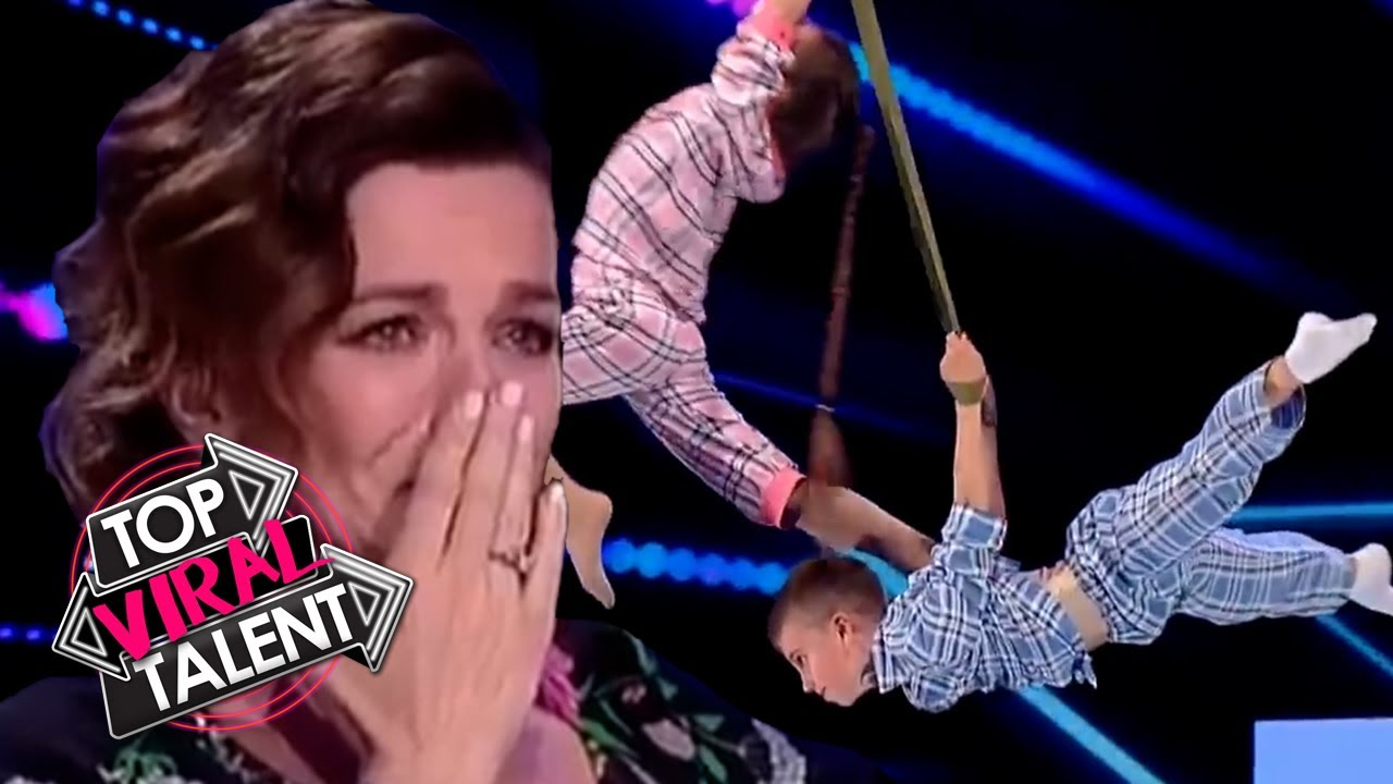 Kid Dancers MOVE JUDGES TO TEARS with EMOTIONAL AERIAL DANCE Performance!