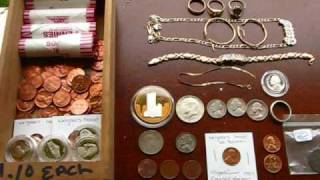 Metal Detecting Gold Jewelry Mode VS. Coin Mode For Garrett GTI 2500 Users Part 1