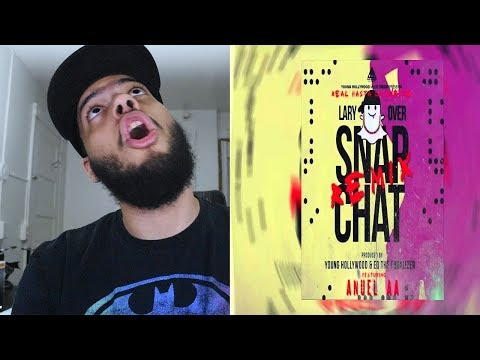 Lary Over - Snap Chat ft. Anuel AA (Remix) [Official Audio] - Reaccion