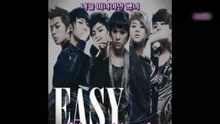 Video B2st ( 비스트 ) - Easy Sincere Ver. [Engsub+Romani] download MP3, 3GP, MP4, WEBM, AVI, FLV Juli 2018
