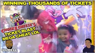 How To Cheat And Win Thousands Of Tickets At Chuck E. Cheese's Ticket Blaster LOL