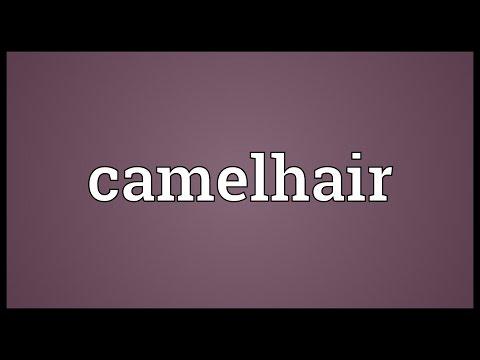 Header of camelhair