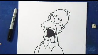 Comment Dessiner Marge Simpson Les Simpsons Clip Fail