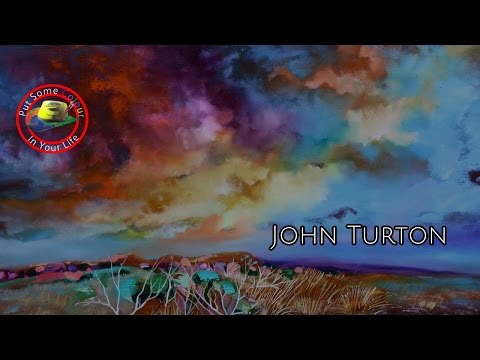 Fine art tips on How To Paint Oil and Acrylic Landscapes with John Turton on Colour In your Life