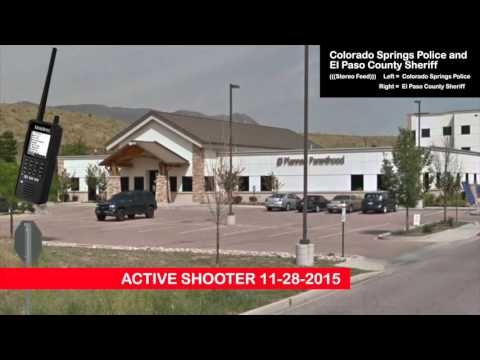 PLANNED PARENTHOOD! Police Scanner Active Shooter Colorado Springs Dual Audio Police & Sheriff