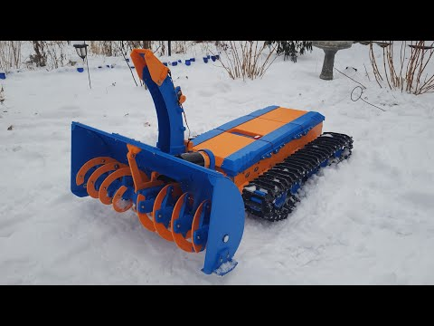 Greg Henn - Minnesota Man Created a 3D Printed, Remote Controlled Snowblower